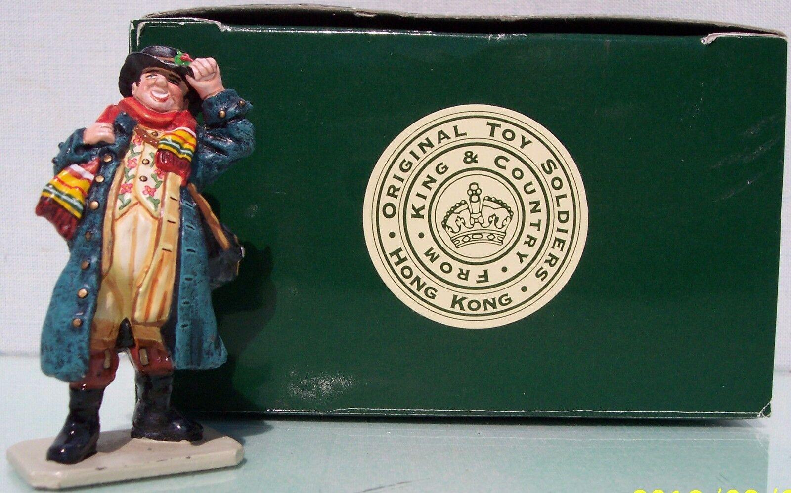 King & Country el Mundo de Dickens DO08 The Royal Mail Portador Exib