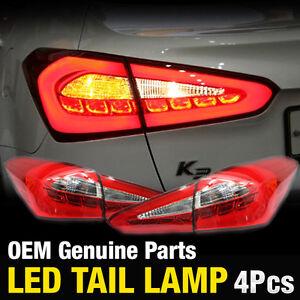 Oem Parts Surface Emission Trunk Led Tail Lamp 4pcs For