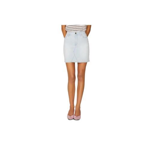 Sanctuary Denim Womens Ryan Denim Recycled High Waist Mini Skirt BHFO 9048