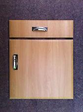 Chamfered Light Oak Kitchen Cupboard Doors Fit Howdens B Q Wickes