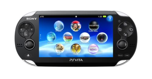SONY Playstation Vita PSV 1000 WiFi 3G Console Black FW 3.6 VGC+Warranty!
