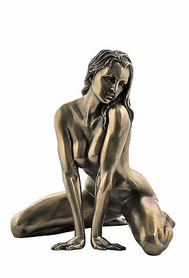 4.5 Inch Nude Sexy Female Statue Collectible Erotic Naked Woman Sexual Sculpture