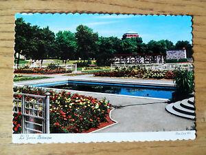Botanical Gardens Montreal Quebec Jardin Botanique Postcard Unused
