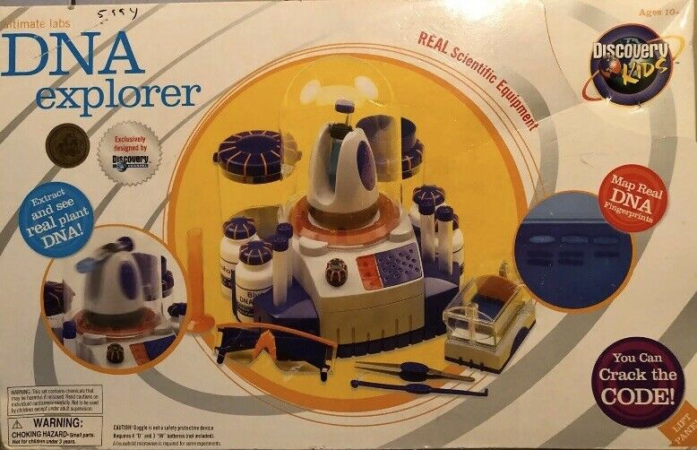 DNA Explorer Science Set (2003) Discovery Kids Ultimate Labs