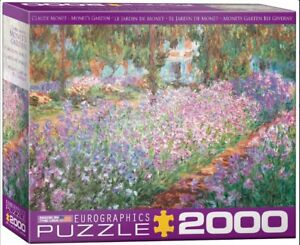 New! Eurographics jigsaw puzzle 2000 pc Mone'ts Garden