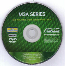 ASUS M3A AND M3A78-T Motherboard Drivers Installation Disk M1400