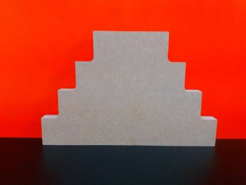Mdf 18mm Stacking Blocks 4 Tier BUT 1 peice for EASY PAINTING