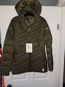 f2e36a3277a Spyder Winter jacket size medium Olive color brand new retail 240 ...
