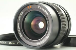 [ Exc+5 ] CONTAX Carl Zeiss Distagon T* 25mm F/2.8 MMG MF Lens from Japan #277
