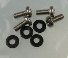 Mk1 Fiesta Front Indicator Stainless Steel Screws & Rubber Washers XR2I