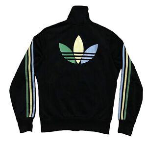 Veste Adidas Originals Firebird Grün Collection Rare Jacket Tracktop Noir 40