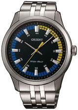 Orologio da polso Orient FQC0U005F0 in acciaio fondo nero al quarzo unisex 43 MM
