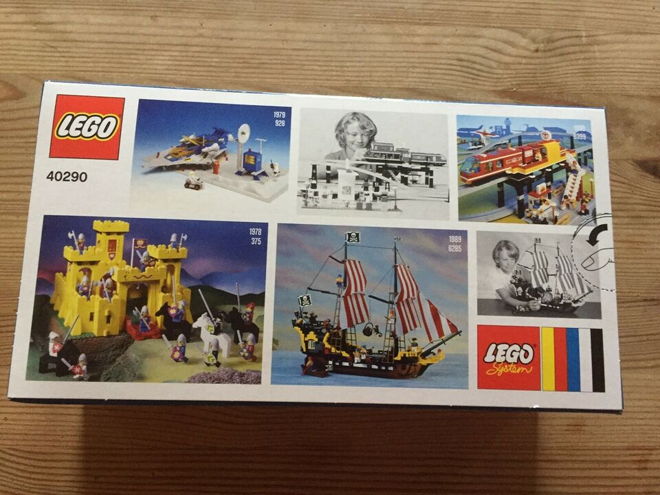 Lego andet, 40290 60 Years of the LEGO Brick