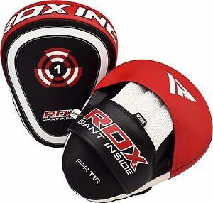 RDX-Handpratzen-Focus-Pad-Pratze-Kick-Boxen-Pratzen-Kampfsport-MMA-Schlagpolster