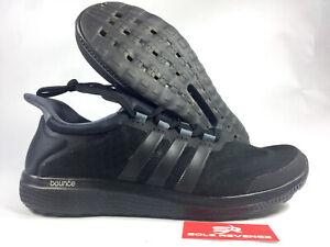 Details about 9 Men's Adidas CC Sonic Bounce Black Running Triple Black Sport Shoes S78242