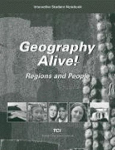 Geography Alive Regions And People Interactive Student Notebook By Liz Russell 2006 Paperback
