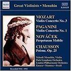Mozart: Violin Concerto No. 3; Paganini: Violin Concerto No. 1; Novácek: Perpetuum Mobile; Chausson: (2006)