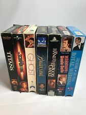 Lot Of 7 VHS Movies - Patrik Swaye, Will Smith, Demi Moore