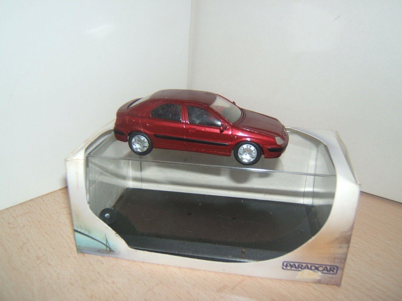 CITROEN  XSARA  4 PORTES 2001    PARADvoiture  1 43  marques en ligne pas cher vente