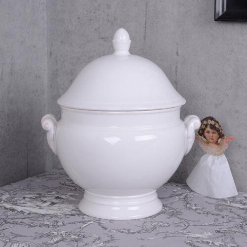Bol De Soupe Shabby Chic Français soupière porcelaine 35 cm terrine