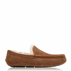 Mens-Ugg-Ascot-Slipper-Moccasin-Slippers-New