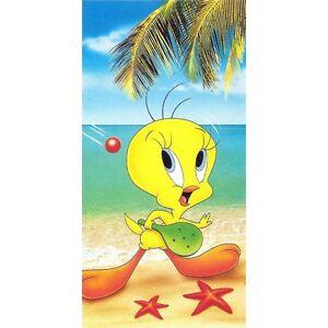 Serviette de plage Drap de bain Titi tennis plage strandtuch beach towel coton