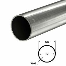 316 Stainless Steel Round Tube 2 Od X 0065 Wall X 12 Long
