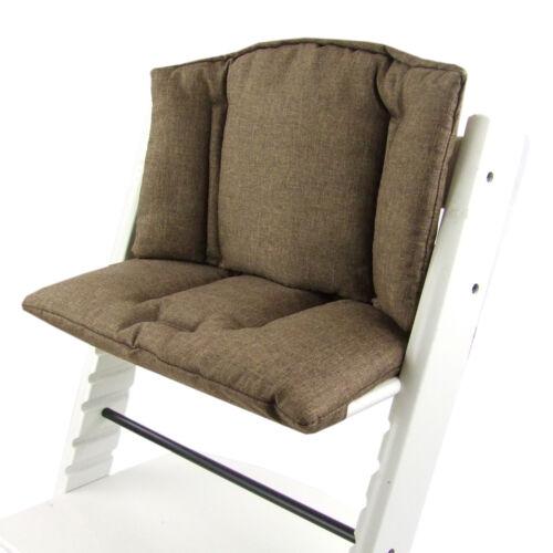 BAMBINIWELT Sitzkissen Kissen Bezug Ersatzbezug für Stokke Tripp Trapp Hochstuhl
