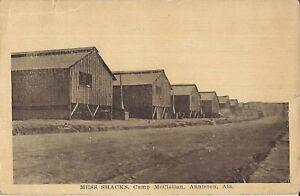 Anniston-ALABAMA-Camp-McClellan-Mess-Shacks-1918