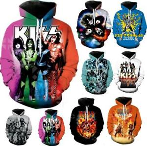 Mens Hoodie Sweatshirt All/·Might Funny Tops Popular Rock Cotton Sweater Pullover Black
