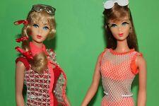 mod Barbie Lot TNT GoGoCoCo1967 & TALKING Barbie 1968  60er