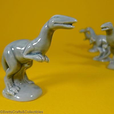 Wade Whimsies (1993/2008) Dinosaurs Series (2008/Set #3) - Grey Coelophysis