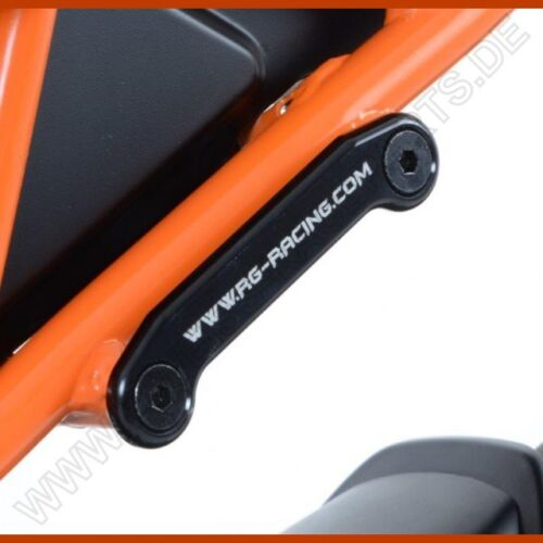 R&G hintere Fußrastenabdeckung KTM RC 125 / 200 / 390 14-16 Rear Footrest Plate