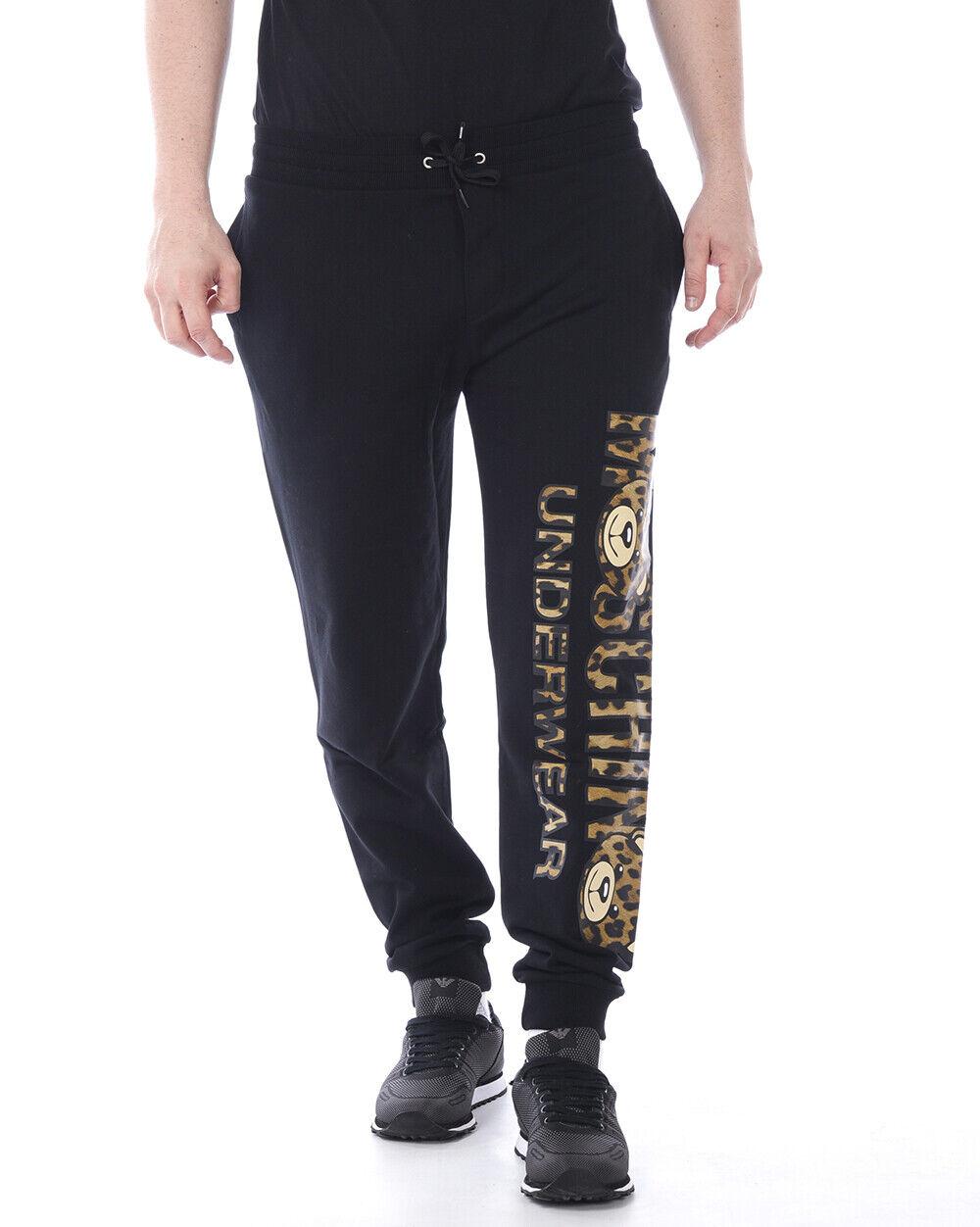 Moschino Underwear Tracksuit Cotton Man Black A4201 8129 555 Sz. XS PUT OFFER