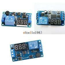 12v Display Led Timer Relay Programmable Board Buzzer Button Module Delay Switch