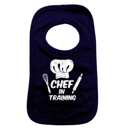 Chef In Training Funny Baby Infants Bib Napkin