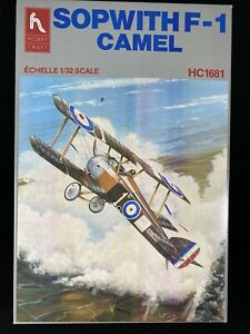 Hobby-Craft-1-32-Scale-Sopwith-F-1-Camel-With-3-Bonus-Miniature-Models-P2