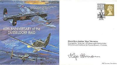 MF6 2003 WWII WW2 Dambuster Raid RAF cover signed Barnes W Wallis