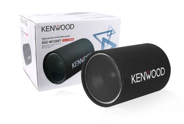 "Kenwood KSC-W1200T 12"" Single 4 Ohm Bass Tube Subwoofer New KSCW1200T"
