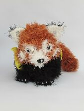 Red Panda Tea Cosy Knitting Pattern to knit your own tea cosy