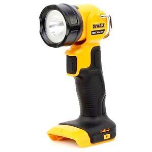Dewalt Dcl040 18v Led Torch Flashlight Work Light Body