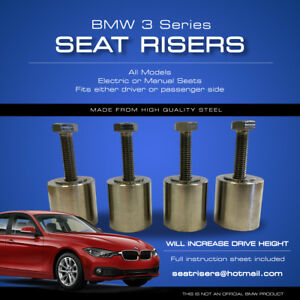 Fabulous Details About Bmw 3 Series Seat Risers All Models Fits Driver Or Passenger Seat Ibusinesslaw Wood Chair Design Ideas Ibusinesslaworg