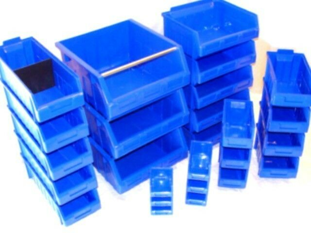 Multi Ergo S Reed box Plastic Parts Storage Stacking Picking Bin 116x112x75