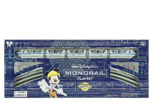 Blue BRAND NEW Disney World Parks Mickey /& Friends Monorail Train Playset