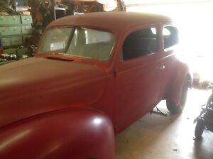 1940 Ford 2 door standard sedan.