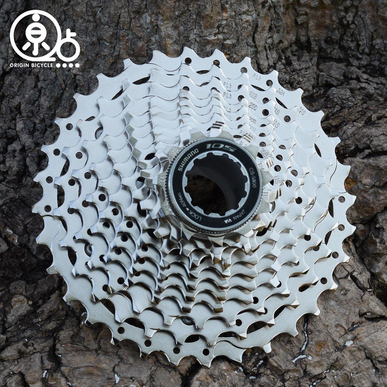 Shimano 105 CS5800 Road Bike 11 Speed Cassette Freewheels Cogs 1125T28T32T