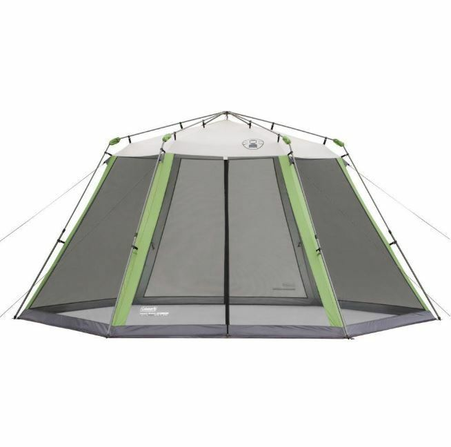 Screened Canopy, 15 ft x 13 ft Collapsible Instant Screen Shelter campeggio Canopy