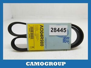 Belt Service V-Ribbed Belt Honda Nsx Hyundai H-1 Jaguar XJ kia Rio AD04R980