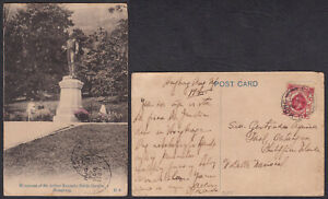 Philippines ARTHER KENNEDY MONUMENT Hongkong Real Photo RPPC Vintage Postcards