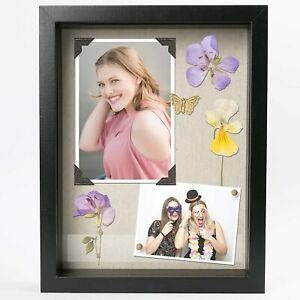 3D Black Picture Frame 11x14 Poster Frames Deep Shadow Box Picture Display Case